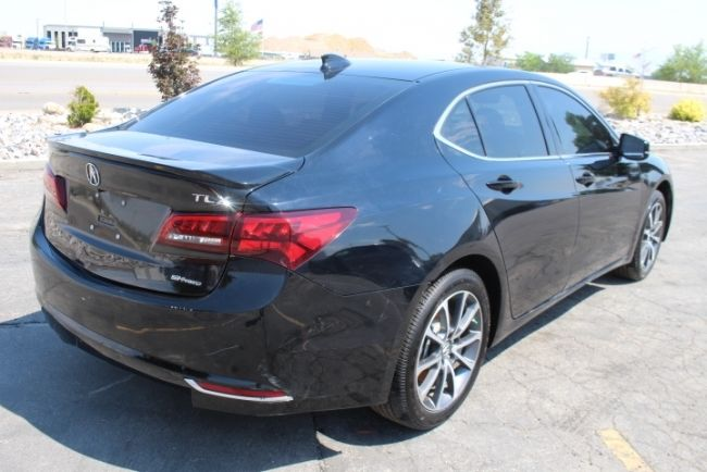 loaded 2016 Acura TLX SH AWD V6 Tech repairable