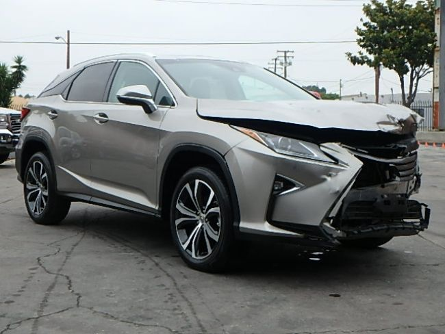 loaded 2017 lexus rx 350 repairable for sale. Black Bedroom Furniture Sets. Home Design Ideas