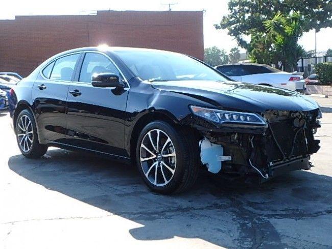 luxury 2017 Acura TLX repairable