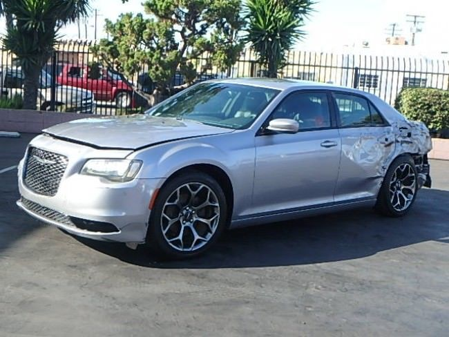 many options 2016 Chrysler 300 Series 300S repairable