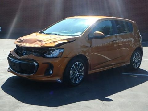 nice project 2017 Chevrolet Sonic LT repairable for sale