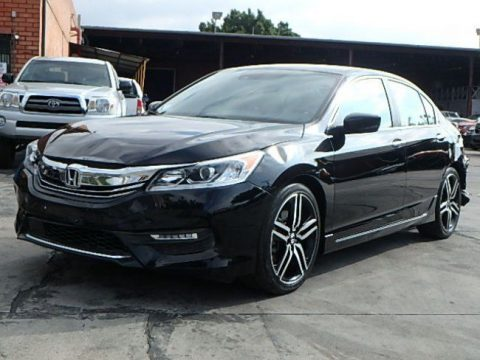 perfect 2016 Honda Accord Sport repairable for sale
