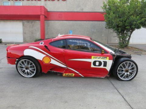 race car 2007 Ferrari 430 Challenge F430 repairable for sale