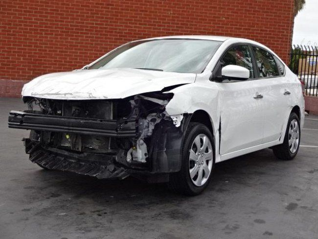 2017 Nissan Sentra Sl >> economical 2015 Nissan Sentra SV repairable for sale