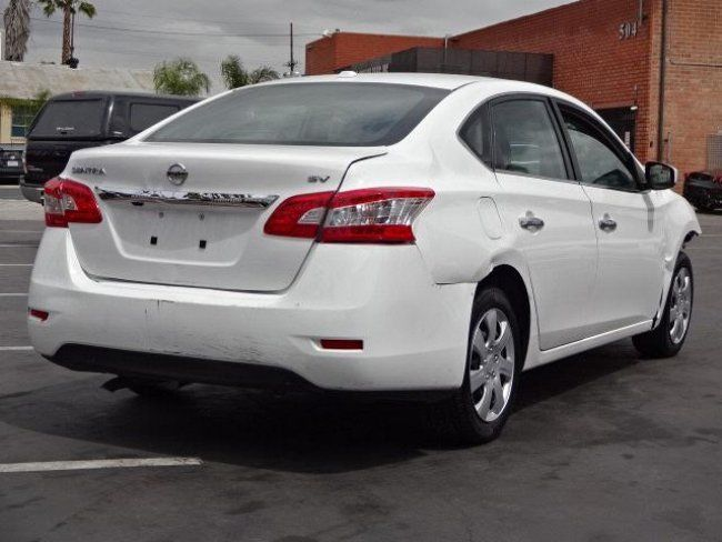 economical 2015 Nissan Sentra SV repairable for sale