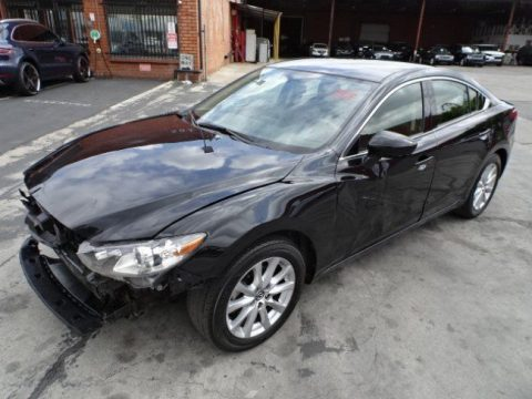 front hit 2016 Mazda Mazda6 i Sport repairable for sale