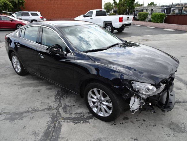 front hit 2016 Mazda Mazda6 i Sport repairable