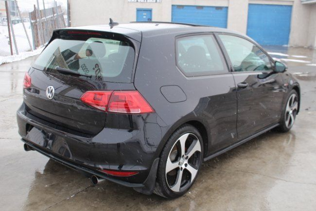 left side hit 2015 Volkswagen Golf SE repairable