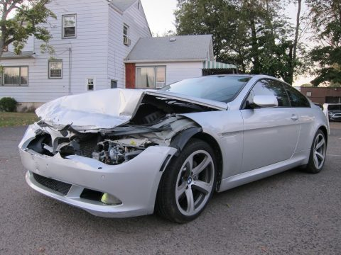 loaded 2008 BMW 6 Series 650i repairable for sale