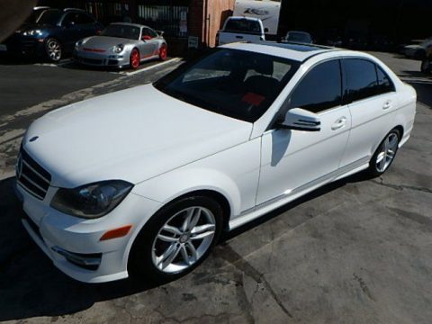 loaded 2014 Mercedes Benz C Class C250 Sport Sedan repairable for sale