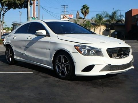 loaded 2014 Mercedes Benz CLA 250 repairable for sale