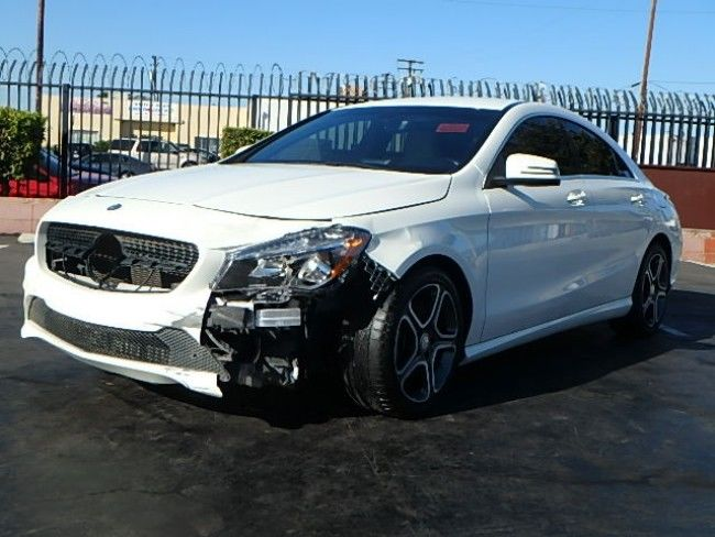 loaded 2014 Mercedes Benz CLA 250 repairable