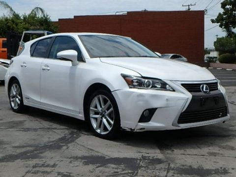 luxurious 2015 Lexus CT 200h Hybrid repairable for sale
