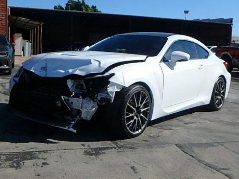 luxurious 2015 Lexus RC F RWD repairable for sale