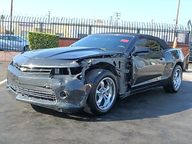 perfect summer car 2015 Chevrolet Camaro LT Convertible repairable