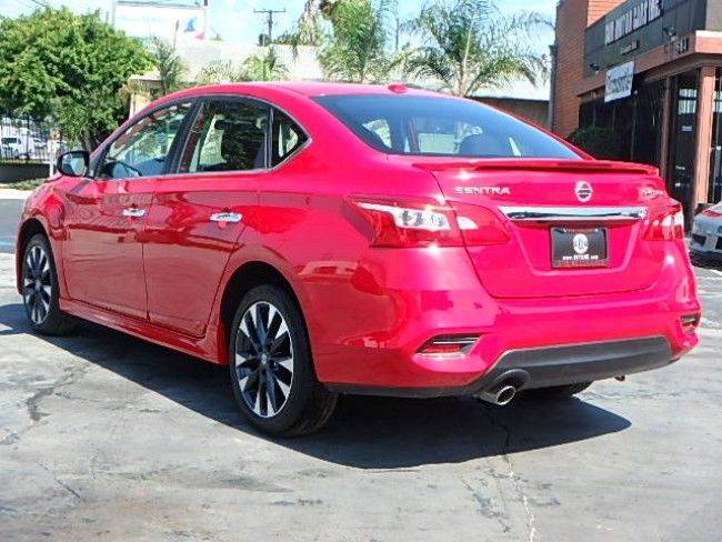 strong 2017 Nissan Sentra SR Turbo repairable
