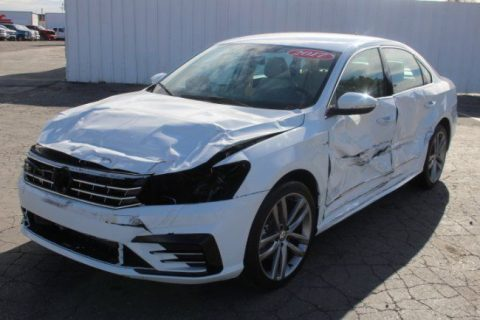 bigger damage 2017 Volkswagen Passat R Line repairable for sale