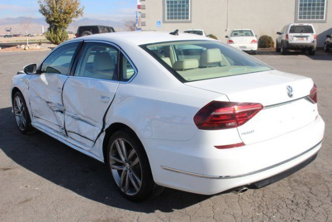 bigger damage 2017 Volkswagen Passat R Line repairable