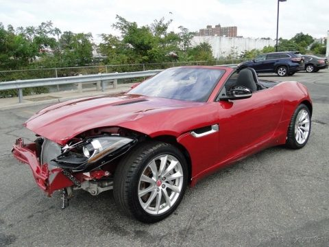 british cat 2017 Jaguar F Type repairable for sale