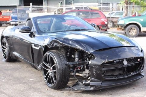 clean 2014 Jaguar F Type repairable for sale
