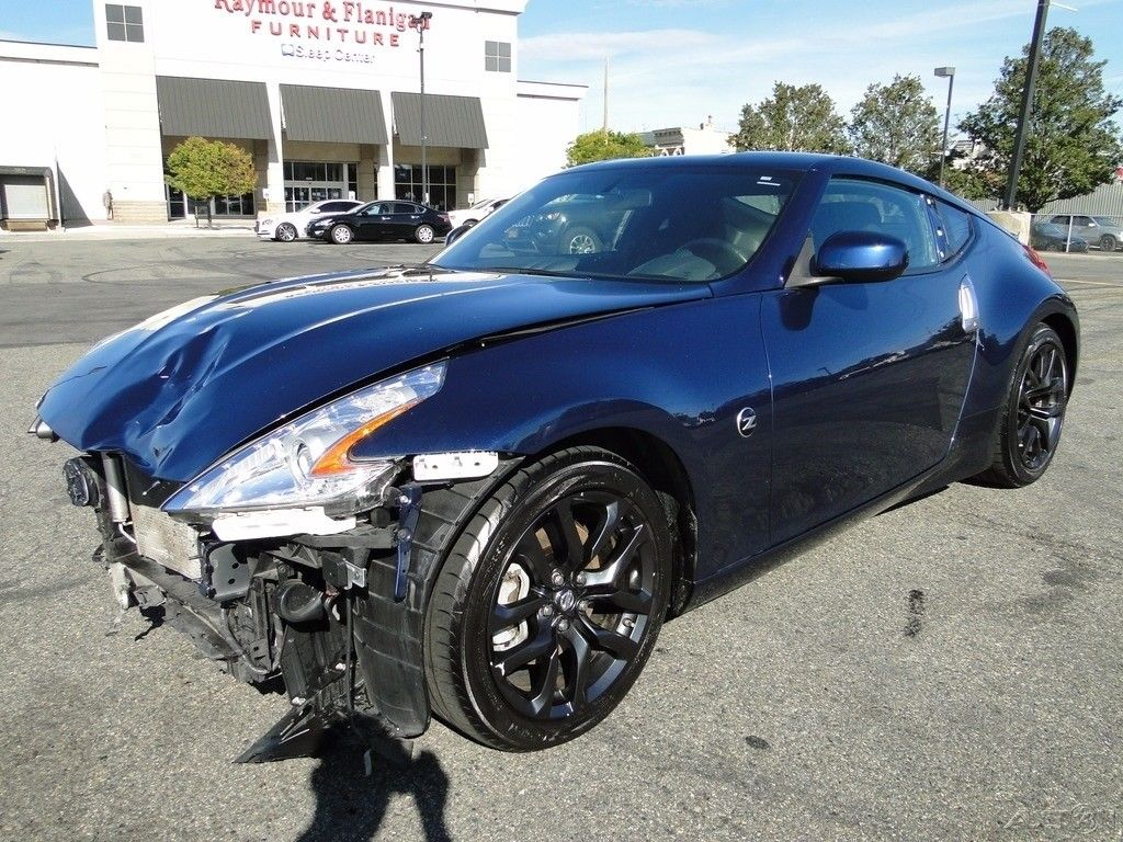 Nissan Salvage For Sale Repairable Cars At Auction Prices: Fast 2015 Nissan 370Z Sport Repairable For Sale