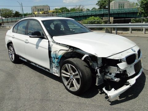 german luxury 2015 BMW 3 Series i xDrive repairable for sale