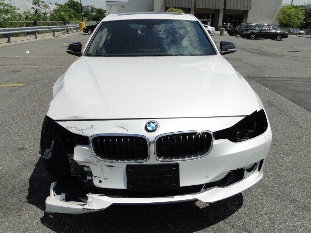 german luxury 2015 BMW 3 Series i xDrive repairable
