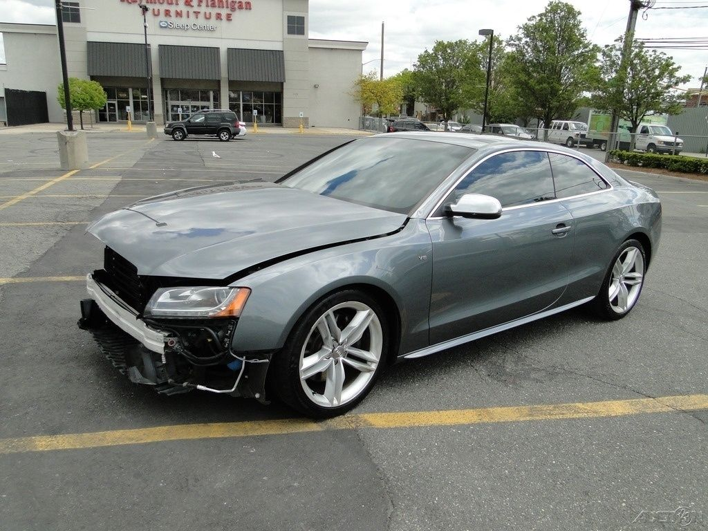 loaded 2012 audi s5 4 2 premium plus repairable for sale. Black Bedroom Furniture Sets. Home Design Ideas