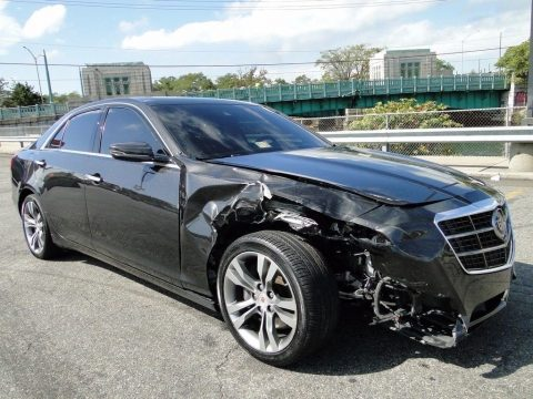 loaded 2014 Cadillac CTS 3.6L Twin Turbo Vsport Premium repairable for sale