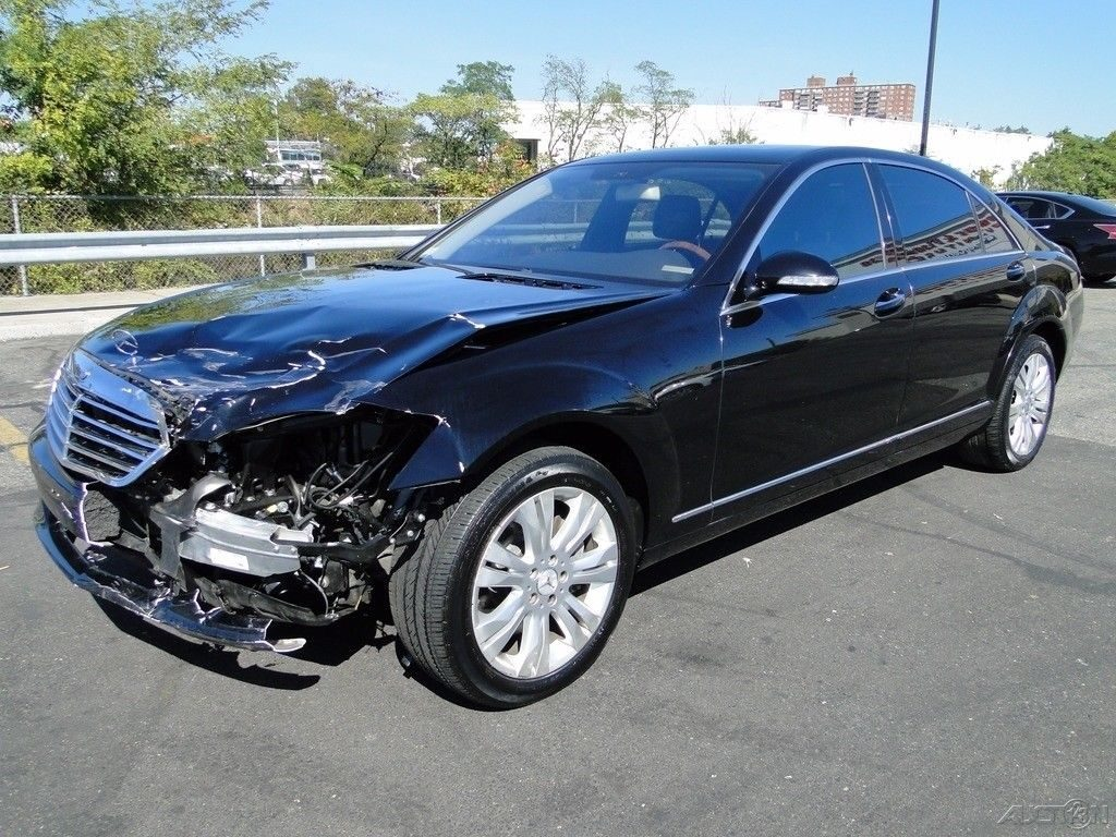 Luxury 2009 mercedes benz s class s550 repairable for sale for Mercedes benz s550 for sale