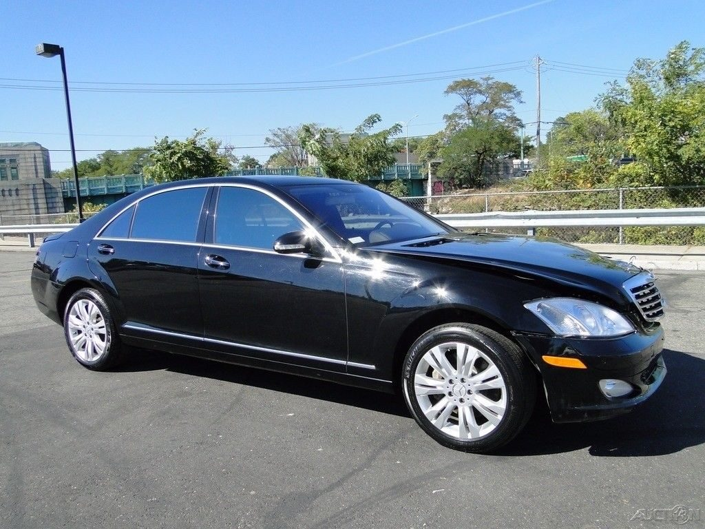 luxury 2009 mercedes benz s class s550 repairable for sale. Black Bedroom Furniture Sets. Home Design Ideas