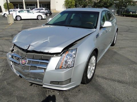 Luxury 2010 Cadillac CTS repairable for sale