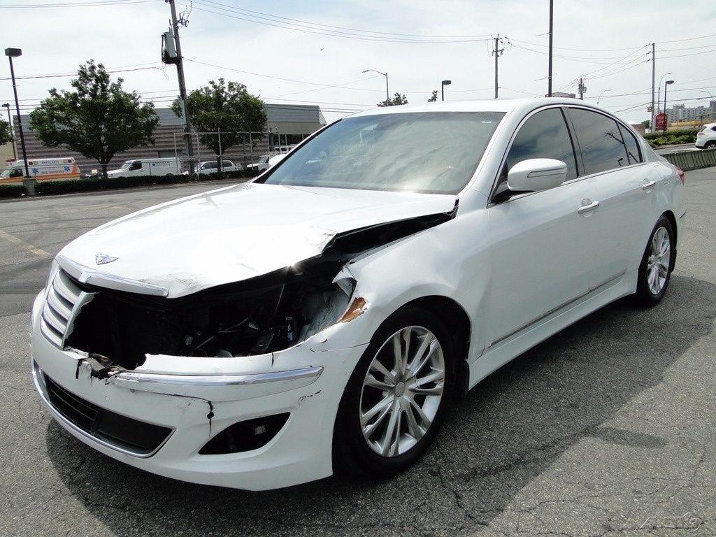 Luxury 2012 Hyundai Genesis 4 6 Repairable For Sale