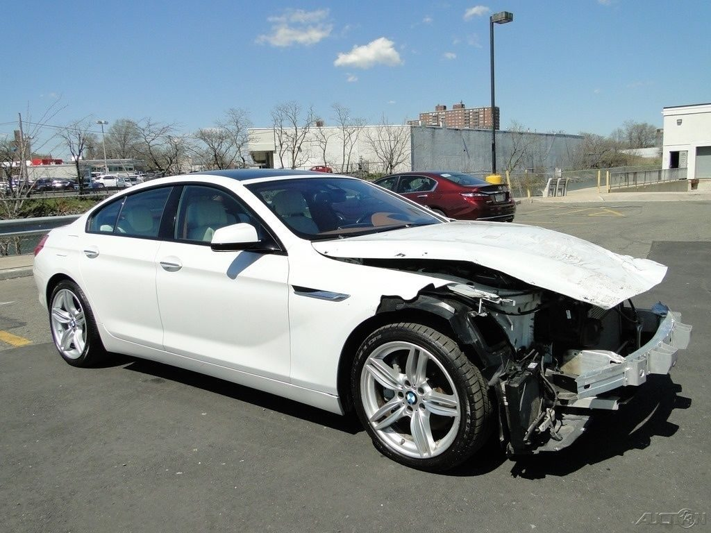 luxury 2013 BMW 6 Series i xDrive repairable