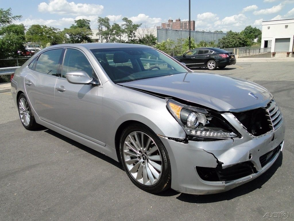 Luxury 2014 Hyundai Equus Signature Repairable For Sale