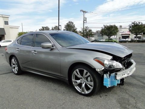 roomy 2013 Infiniti M X Sedan 4 Door repairable for sale