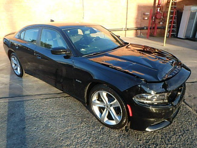 super low miles 2018 Dodge Charger R/T repairable