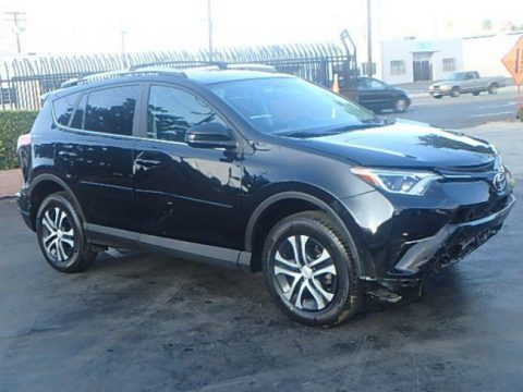 almost unused 2016 Toyota RAV4 LE repairable for sale