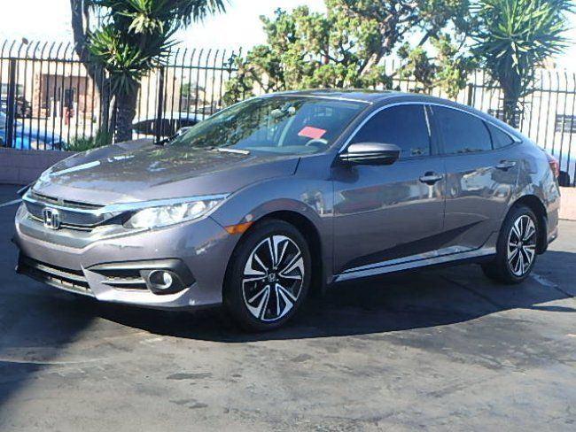 comfortable 2016 Honda Civic EX T Sedan repairable