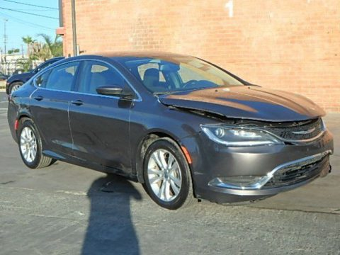 economical 2015 Chrysler 200 Series Limited repairable for sale