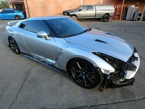 one of a kind 2016 Nissan GT R Premium repairable for sale