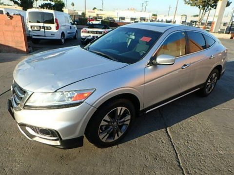 very low miles 2015 Honda Crosstour EX Repairable for sale
