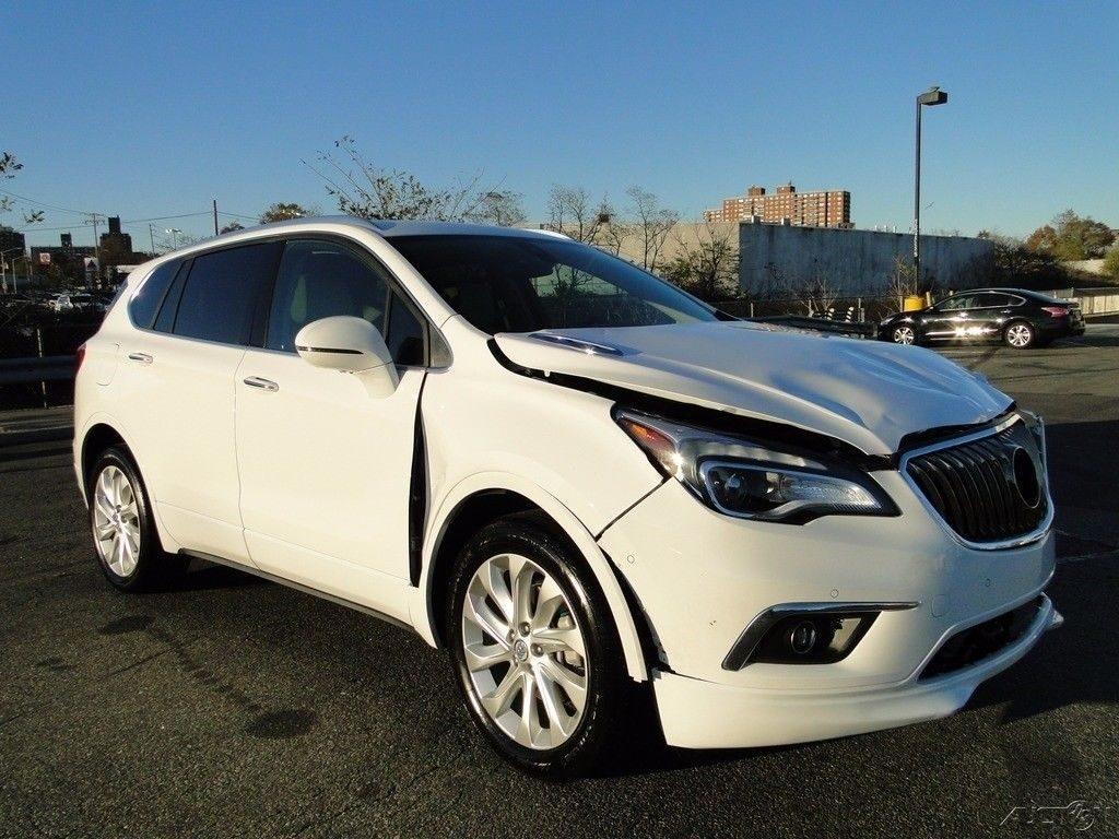 almost unused 2017 Buick Envision Premium II repairable for sale