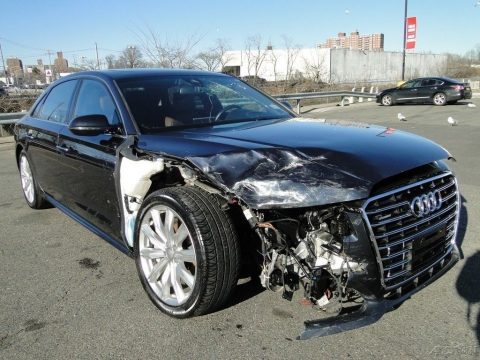 comfortable 2016 Audi A8 L 4.0T Sport repairable for sale