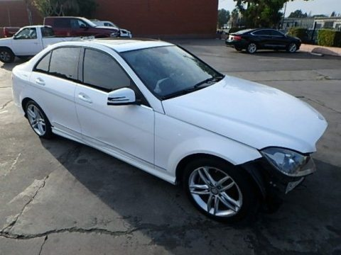 easy repair 2013 Mercedes Benz C Class C250 repairable for sale