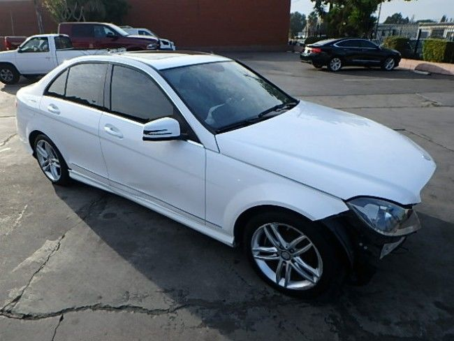 easy repair 2013 Mercedes Benz C Class C250 repairable