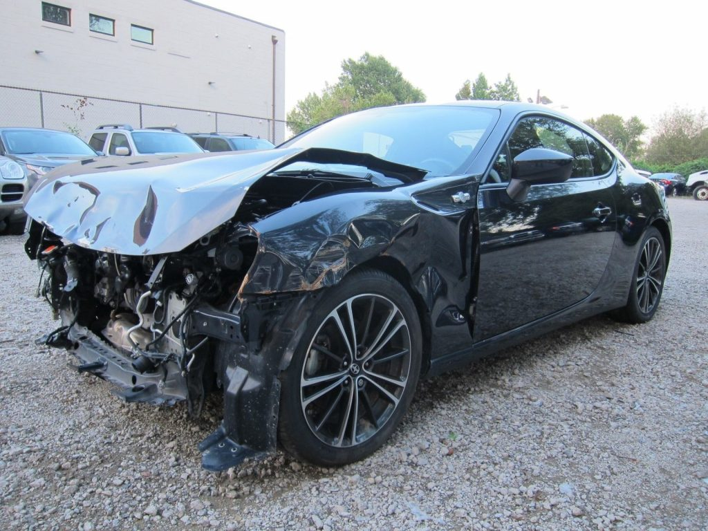 front damage 2016 Scion FR S FRS repairable