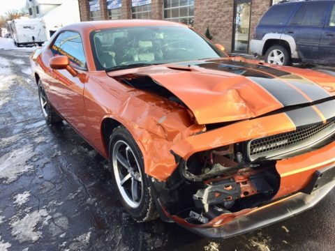 low miles 2011 Dodge Challenger repairable for sale