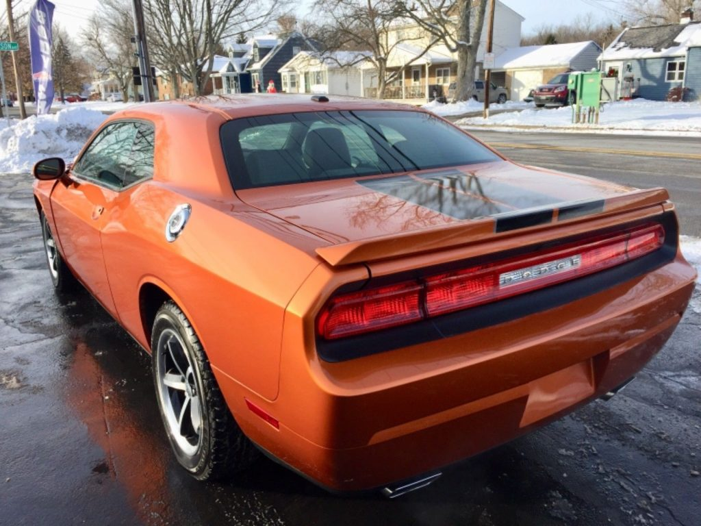 low miles 2011 Dodge Challenger repairable