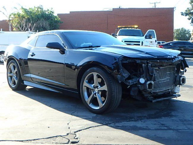 low miles 2013 Chevrolet Camaro SS Coupe repairable